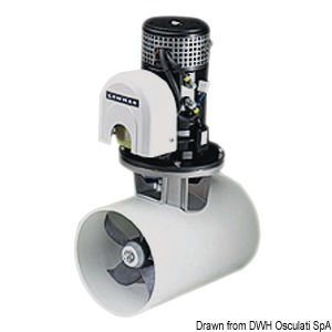 LEWMAR Blue Generation electric thrusters
