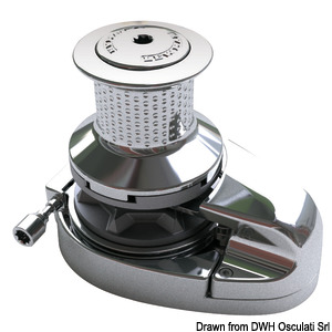 LEWMAR V8 GD windlass, 3500W and V8 hydraulic GD windlass