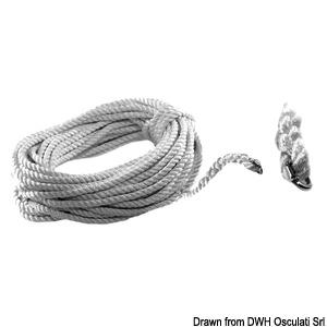 Концы для лебедок с комбинированным барабаном трос-цепь