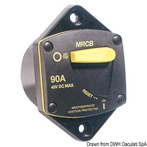 Автоматические выключатели для защиты от перегрузки двигателей лебедок и подруливающих устройств