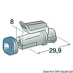 Герметичные разъемы для проводов до 1,2 мм2