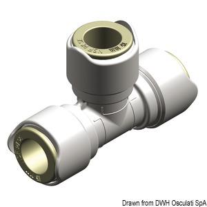 Быстроразъемные фитинги Ø15 мм для систем водоснабжения WHALE