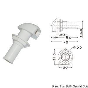 Вентиляционные головки топливных баков