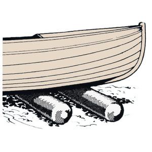 Валики для спуска на воду