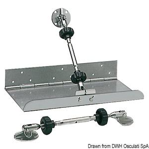 Приводы/цилиндры для транцевых плит и комплектующие