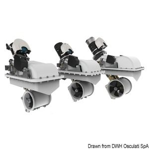 LEWMAR swing retracting thrusters