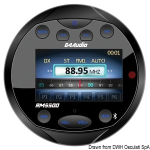 Магнитола FM/Bluetooth/USB/MP3