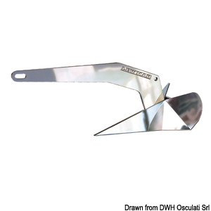 LEWMAR Delta® DTX stainless steel anchor title=