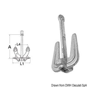 Hall traditional anchor