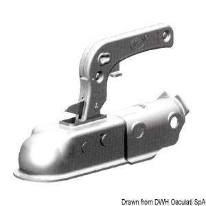 Type-approved tow hook