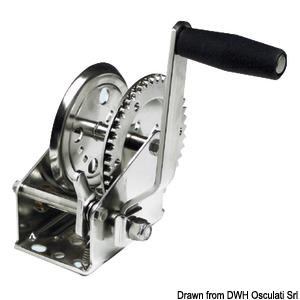 Dual Drive boat haulage winch title=