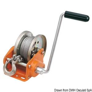 ROCK winch with automatic lock