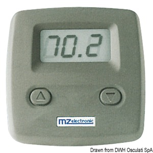 MZ ELECTRONIC simplified chain counter display title=