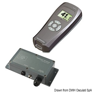 LEWMAR up/down push-button controller and chain counter featuring advanced functions title=