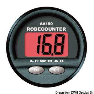 LEWMAR chain counter with alarm title=