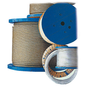 Cables made of AISI 316 stainless steel