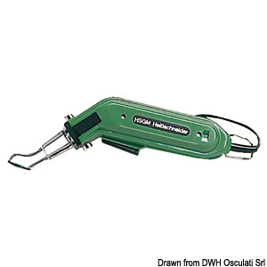 Electric rope cutter title=