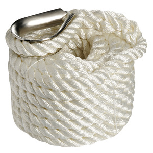 High-strength spliced mooring line title=
