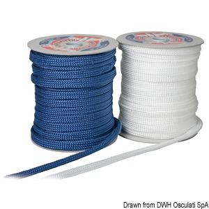 32-strand polypropylene flat braid title=