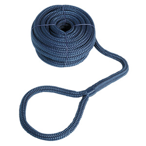 High-strength eye-spliced mooring line title=
