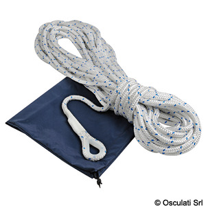 Anchor rope made of polyester braid with lead core for the first 10 metres title=