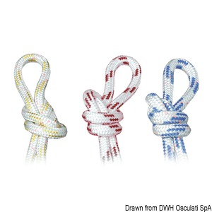 Double braid for Dyneema sheets title=