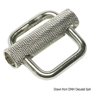 High-strength stainless steel buckle title=