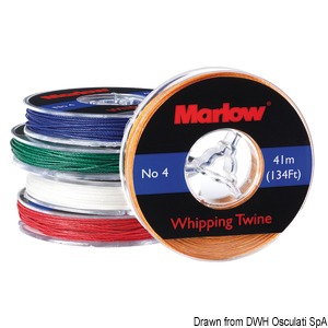 Marlow black whipping twine