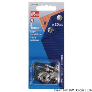 Snap fasteners and male + female snap fasteners in display blister pack title=