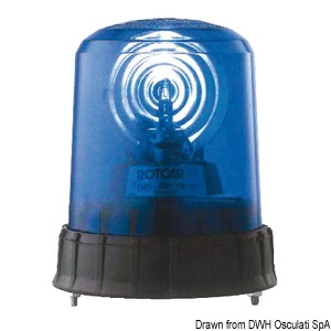 Blue lights for emergency vehicles title=