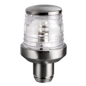 Classic 360° SS mast head light w/shank