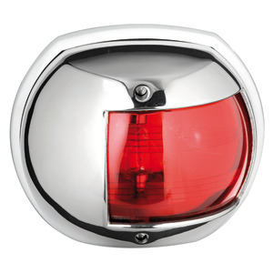 Maxi 20 navigation lights made of mirror-polished AISI316 stainless steel title=