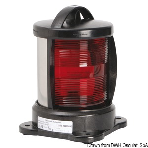 DHR navigation light red 112.5°