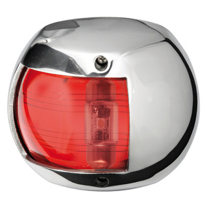 Compact 12 LED navigation lights made of mirror-polished AISI316 stainless steel title=