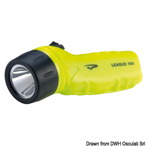 PRINCETON League LED underwater torch, IPX8 title=