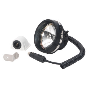 Utility Rubber Spot light, totally shatterproof and watertight