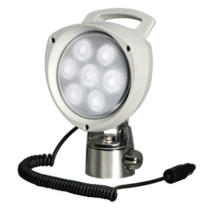 Articulating, Portable Spotlight title=