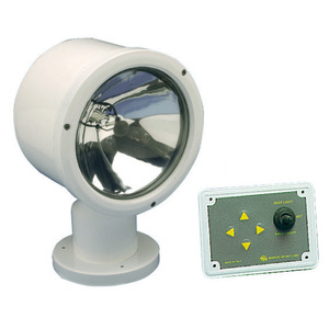"MEGA electrically operated light with Sealed Beam 7"" watertight bulb title="