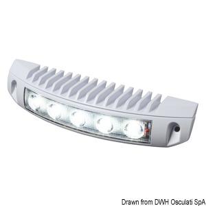 LED spotlight for gangplanks, upper sterns and fly bridges title=