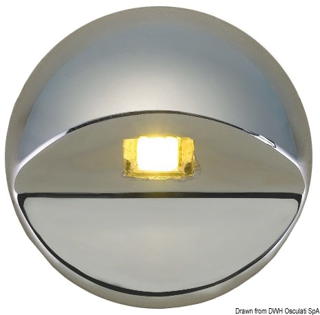 Alcor led courtesy light for recess mounting aloadofball Image collections