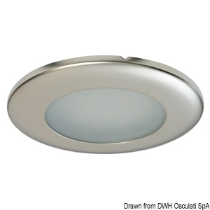 Capella LED ceiling light for recess mounting title=
