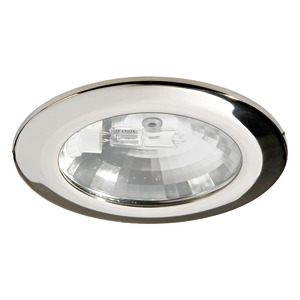 Asterope halogen ceiling light for recess mounting