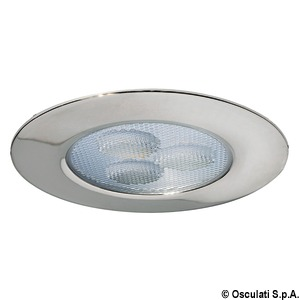 Negril LED ceiling light for recess mounting