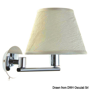 FORESTI E SUARDI Maia bedhead articulated spotlight