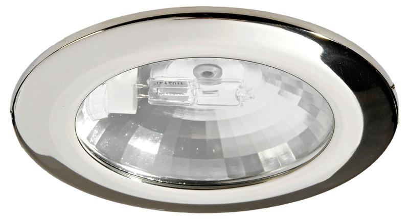Spot asterope avec reflecteur poli miroir for Miroir dichroique