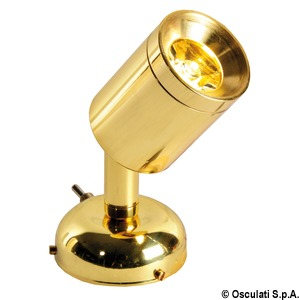 Metalowe oprawy punktowe do czytania / oświetlania stołu nawigacyjnego