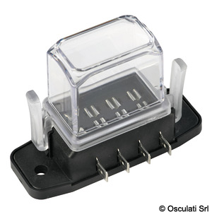 Watertight blade fuse holder with deep lid title=
