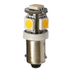 LED bulb for lights, courtesy lights and navigation lights, BA9S screw title=