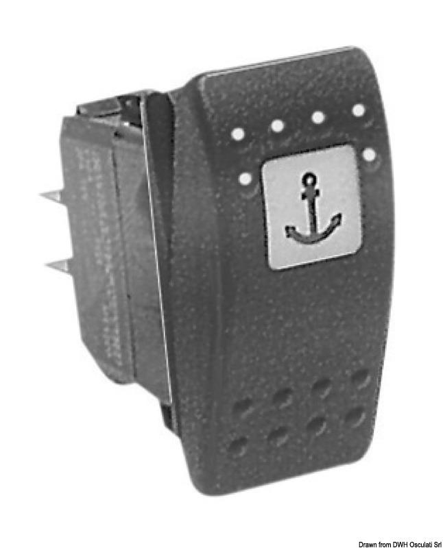 carling switch contura ii switch rh osculati com Carling Contura SPDT Rocker Carling Contura SPDT Rocker