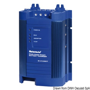 POWER SAVER switch mode multistage battery charger title=